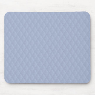 Alice Blue Diamond Quilted Stitched Pattern Mouse Pad