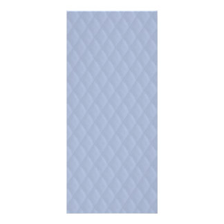 Alice Blue Diamond Quilted Stitched Pattern Rack Cards