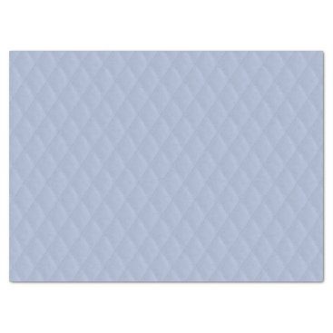 Beach Themed Alice Blue Diamond Quilted Stitched Pattern Tissue Paper