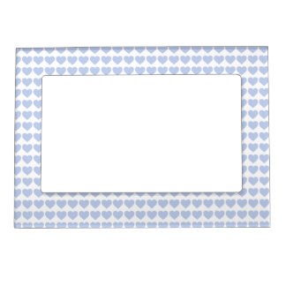 Alice Blue Hearts in an English Country Garden Magnetic Frame