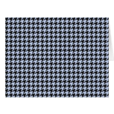 honor_and_obey Alice Blue Houndstooth in English Country Garden Card