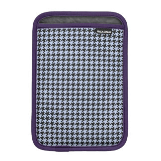 Alice Blue Houndstooth in English Country Garden iPad Mini Sleeves