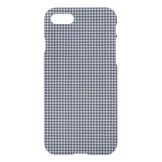 Alice Blue Houndstooth in English Country Garden iPhone 7 Case