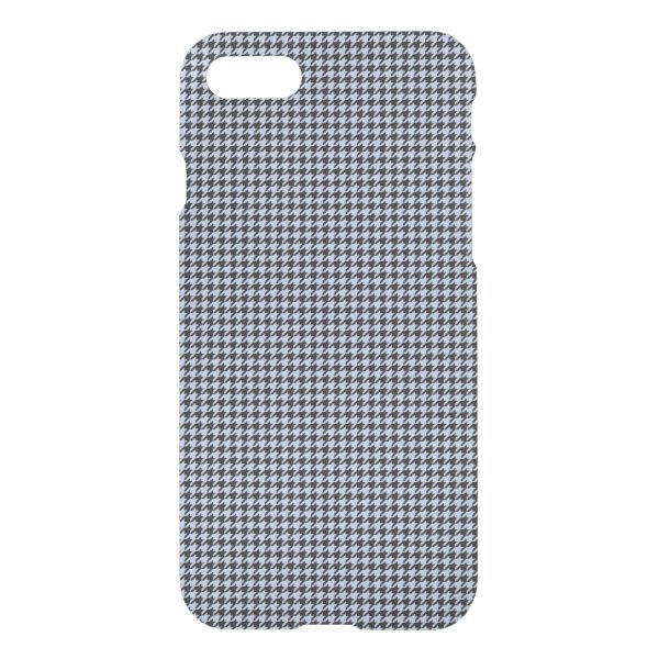 Alice Blue Houndstooth in English Country Garden iPhone 8/7 Case