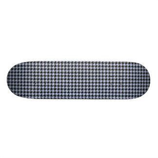 Alice Blue Houndstooth in English Country Garden Skateboard