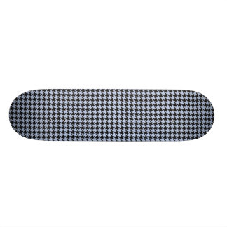 Alice Blue Houndstooth in English Country Garden Skateboard Deck