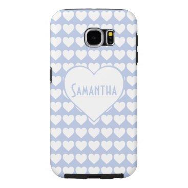Beach Themed Alice Blue in an English Country Garden1 Samsung Galaxy S6 Case