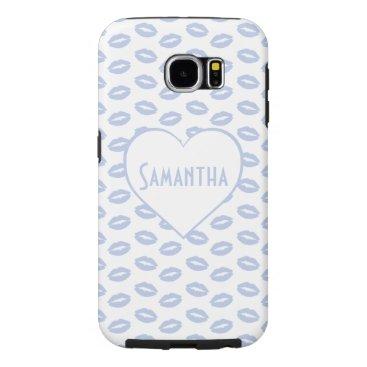 Beach Themed Alice Blue in an English Country Garden Samsung Galaxy S6 Case