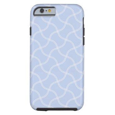 Beach Themed Alice Blue in an English Country Garden Tough iPhone 6 Case