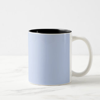 Alice Blue in an English Country Garden Two-Tone Coffee Mug