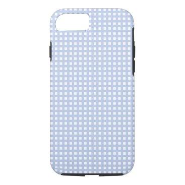 Beach Themed Alice Blue Lattice in an English Country Garden iPhone 7 Case