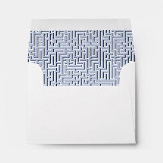 Alice Blue Maze in an English Country Garden Envelope