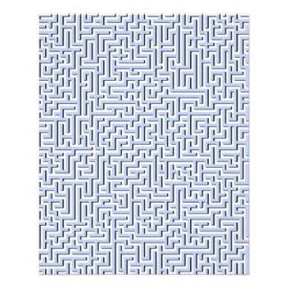 Alice Blue Maze in an English Country Garden Flyer