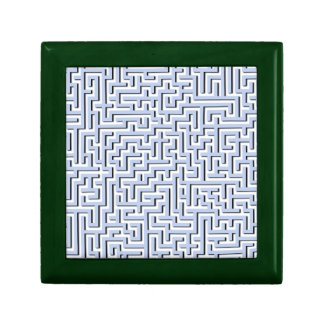 Alice Blue Maze in an English Country Garden Jewelry Box