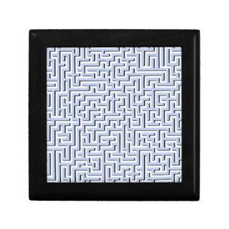 Alice Blue Maze in an English Country Garden Trinket Boxes