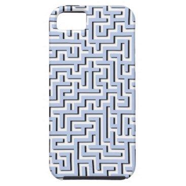 Beach Themed Alice Blue Maze in an English Country Garden iPhone SE/5/5s Case