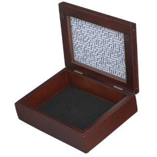 Alice Blue Maze in an English Country Garden Memory Boxes