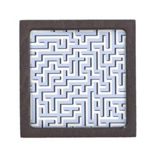 Alice Blue Maze in an English Country Garden Premium Keepsake Box