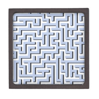 Alice Blue Maze in an English Country Garden Premium Trinket Boxes