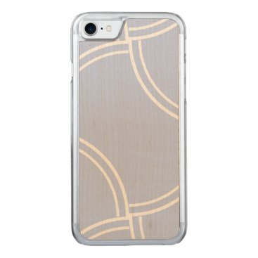 Beach Themed Alice Blue Mini Footpath in English Country Garden Carved iPhone 7 Case