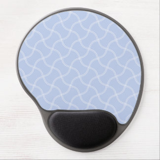 Alice Blue Mini Footpath in English Country Garden Gel Mouse Pad
