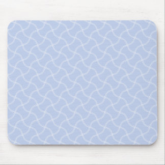 Alice Blue Mini Footpath in English Country Garden Mouse Pad