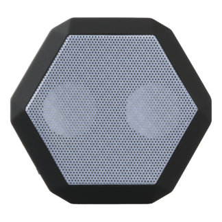 Alice Blue Square Quilted Stitched Pattern Black Bluetooth Speaker