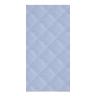 Alice Blue Square Quilted Stitched Pattern Card