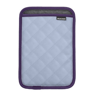 Alice Blue Square Quilted Stitched Pattern iPad Mini Sleeve