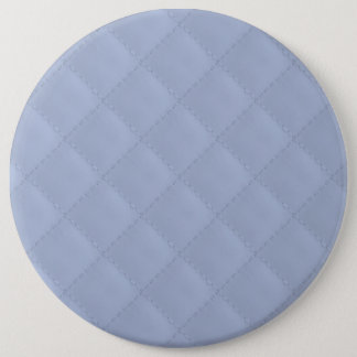 Alice Blue Square Quilted Stitched Pattern Pinback Button