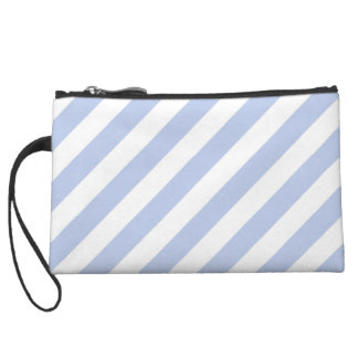 Alice Blue Tent Stripe in English Country Garden Wristlets