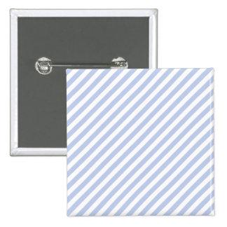 Alice Blue Tent Stripe in English Country Garden 2 Inch Square Button