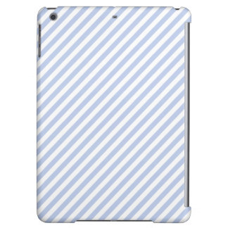 Alice Blue Tent Stripe in English Country Garden Case For iPad Air