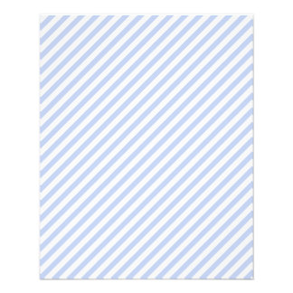 Alice Blue Tent Stripe in English Country Garden Flyer