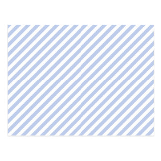 Alice Blue Tent Stripe in English Country Garden Postcard