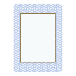 Alice Blue White Kisses in English Country Garden Card