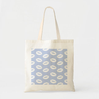 Alice Blue White Kisses in English Country Garden Tote Bag