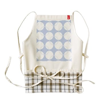 Beach Themed Alice Blue Wimbledon in an English Country Garden Zazzle HEART Apron