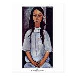 Alice By Modigliani Amedeo Postcards