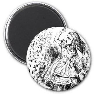 Alice - Cards Refrigerator Magnets