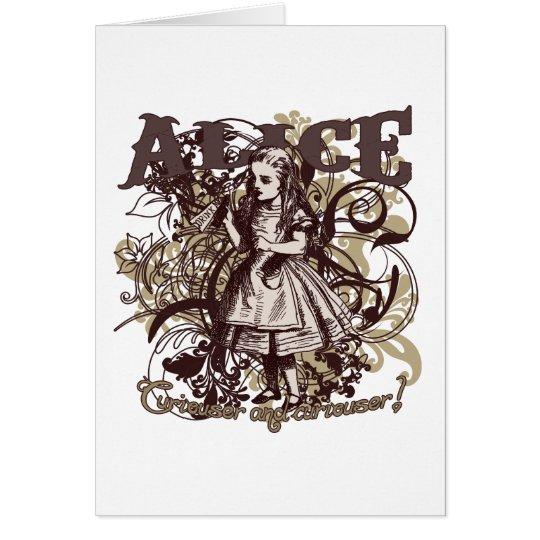 Alice Carnivale Style Card