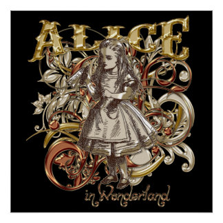 Alice Carnivale Style (Gold Version) Posters