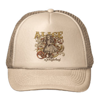 Alice Carnivale Style (Gold Version) Trucker Hat