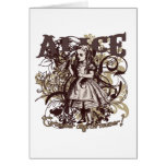 Alice Carnivale Style Greeting Cards