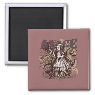Alice Carnivale Style Refrigerator Magnets