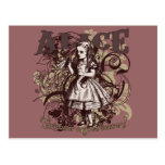 Alice Carnivale Style Postcard