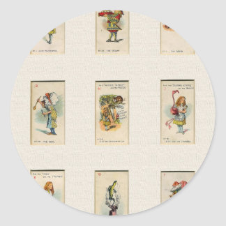 Alice Collection Classic Round Sticker