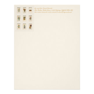 Alice Collection Customized Letterhead