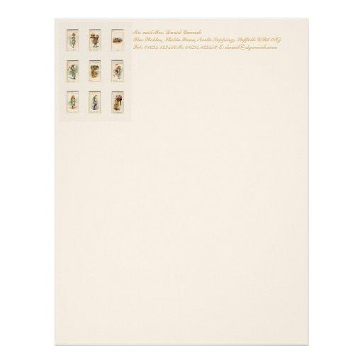 Alice Collection Customized Letterhead