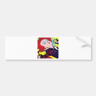 Alice collection red Queen Bumper Sticker